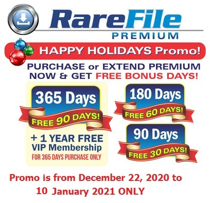 rarefile mid year promo